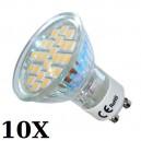 10 x ŻARÓWKA LED 24 SMD 5050 3,5W odp. 40W