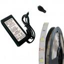 ZESTAW 5M 150 Taśma 5050 LED IP20 + Zasilacz + Gniazdo DC!