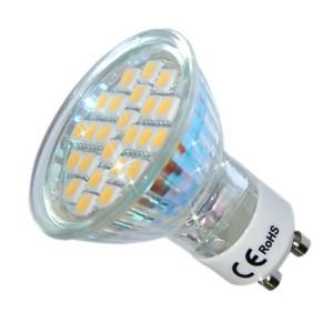 ŻARÓWKA LED 24 SMD 5050 3,5W ODP. 40W