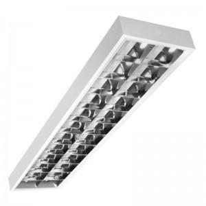 OPRAWA RASTROWA NATYNKOWA LED dla 2X T8 LED G13